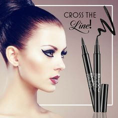 Thick or thin – here's a line that you would want to cross each and every time. This little bit of black magic keeps going for 10 hours straight.   #liner #makeup #instamakeup #wakeupandmakeup #makeuplover #makeupforever #ilovemakeup #cosmetics #beauty #instabeauty #naturalbeauty #fashion #fashionista #beautycare #instafashion #fashionable #fashiondiaries #streetfashion #fashionstyle #matte #nail #nailart #beauty