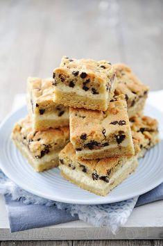Carrés de cookies-cheesecake ou carrés de cookies au cream cheese façon sandwich