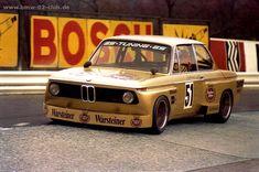 Jörg Obermoser in his Warsteiner-BMW 2002 at the Eifelrennen 1976