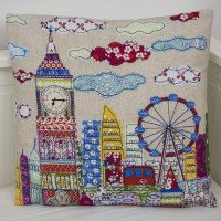 London Cushion http://www.lucylevenson.com/howitsmade.html