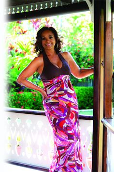 Janelle Penny Commissiong Chow, Miss Universe 1977 from Trinidad and Tobago today at age 60.