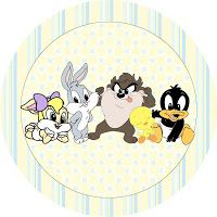 Looney Tunes Bebes, Looney Tunes Party, Looney Toons, Looney Tunes Personajes, Desenhos Hanna Barbera, Looney Tunes Wallpaper, Imprimibles Baby Shower, Candy Bar Labels, Cartoons Love