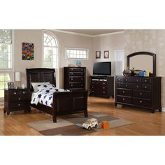 Sleigh Customizable Bedroom Set - http://delanico.com/bedroom-sets/sleigh-customizable-bedroom-set-639780990/