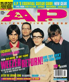 Weezer - Alternative  Press Cover
