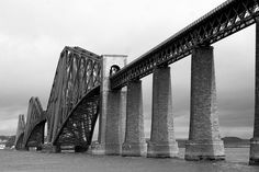 Forth Bridge from South Queensferry