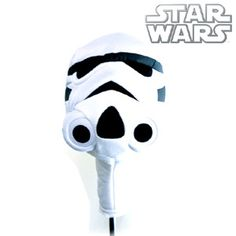 STAR WARS STORMTROOPER Golf Club Driver Headcover (Novelty golf head covers)
