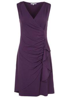 Robe de soirée - violet Ah ah. elle me plait vraiment celle là ! Anna, Mid Length Dresses, Formal Dresses, Dress Skirt, Peplum Dress, Lilac Dress, Asymmetrical Skirt, Dream Dress, Party Dress
