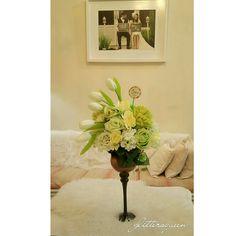 Artificial flowers arragement