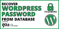 Recover WordPress Password from PhpMyAdmin or Database, convert your plain text password to MD5 hash in your MySQL Database, VERY EASY STEPS