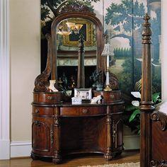 pulaski furniture 2 piece bedroom vanity edwardian antique pulaski apothecary style
