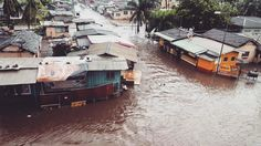 View from my girl @samallenberg office today in Accra (Ghana) as the city faced severe flooding!! Hoping her flight home tonight won't be cancelled!!!  #dontdrown #comehome
