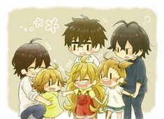 Let's have a playdate! [Amaama to Inazuma x Barakamon x Poco's Udon World]