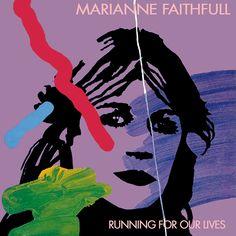 """Marianne Faithfull Running for Our Lives (UK 7"""" 1983)"""