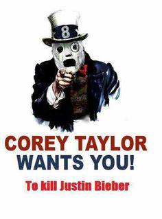 LOL!!!... <3 Corey Taylor