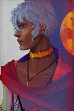 the arcana asra Character Concept, Character Art, Character Design, Character Portraits, Tarot, Illustrations, The Magicians, Anime Guys, Game Art