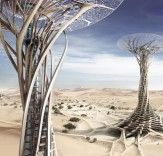 Sand Babel: Solar-Powered Twisting Skyscrapers 3D-Printed with Desert Sands | Inhabitat - Sustainable Design Innovation, Eco Architecture, Green Building