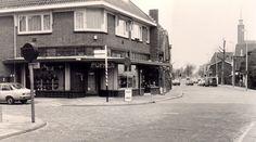 Hoek Dorpsstraat met Badlaan