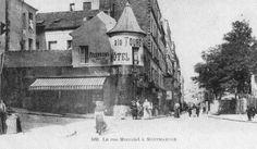 La Rue Marcadet. Montmartre. Paris