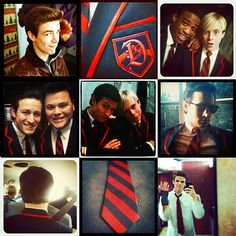 The Warblers and their Instagram obsession #glee
