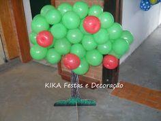 KIKA Festas e Decorações Infantil Campinas: ARTE COM BALÕES