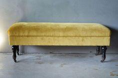 FINN – Gul velur benk Outdoor Furniture, Outdoor Decor, Master Bedroom, Bench, Storage, Home Decor, Design, Fashion, Rome