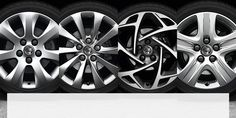 A selection of the Insignia's alloy wheels
