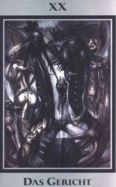 H.R. Giger Tarot ► Das Gericht