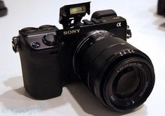 The latest in the NEX line... meet the Sony Alpha NEX-7