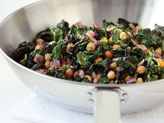 get your greens in: chickpeas and Swiss chard #recipe
