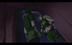 "Season 1 Episode 23 Insecurity: Green Arrow & Artemis: Artemis: ""See you tomorrow?"" Green Arrow: ""You bet."""