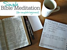 Simple Bible Meditation for Complete Beginners