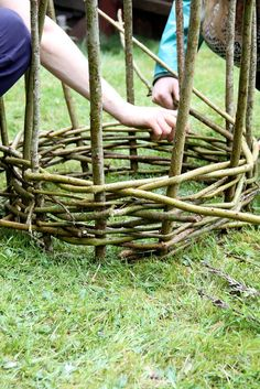 Garden Arbor, Garden Beds, Garden Paths, Willow Fence, Willow Wood, Peony Support, Forest House, Garden Structures, Organic Farming
