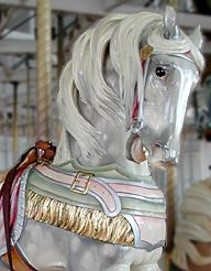 New Haven, CT carousel horse