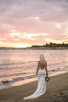 Destination Wedding - Glyfada, Greece - Beach Wedding Photography Glyfada Greece, Beach Wedding Photography, Destination Wedding, Cover Up, Dresses, Fashion, Gowns, Moda, Fashion Styles