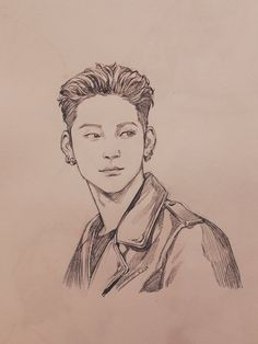 We know but what if the kpop group consisted a number of 8 membe… Kpop Drawings, Art Drawings Sketches, Pencil Drawings, Got7 Fanart, Kpop Fanart, Et Tattoo, K Pop, Art Inspo, Painting & Drawing
