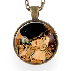 The Kiss Necklace, Art By Gustav Klimt – CellsDividing