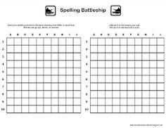 Relentlessly Fun, Deceptively Educational: Spelling Battleship