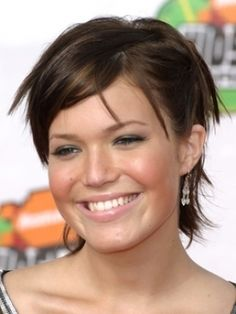 Mandy Moore - short hairstyle