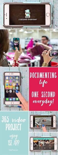 I've spent the last year documenting our life thru video using an app called 1 Second Everyday. It's super easy and a fun 365 project. See video and more at TidyMom.net