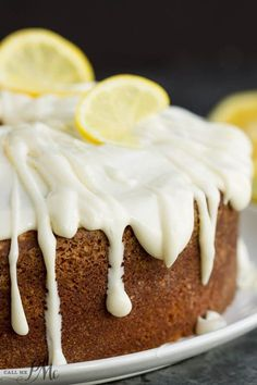 Trisha Yearwood's Lemon Pound Cake with Glaze recipe is the perfect dessert to bring along to your next summer get-together. Cake Recipes For Kids, Lemon Dessert Recipes, Pound Cake Recipes, Baking Recipes, Pound Cakes, Lemon Recipes, Baking Ideas, Cheesecake Recipes, Lemon Pound Cake With Glaze Recipe