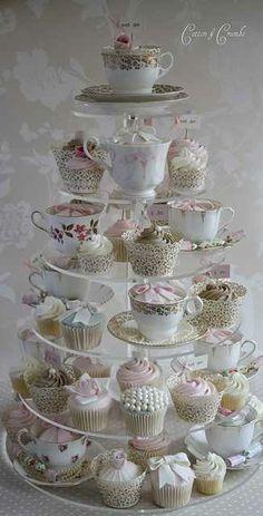 tea party bridal shower...so cute!