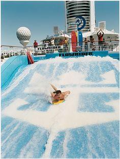 Royal Caribbean - Voyager of The Seas surfing deck ล่องเรือสำราญคลิ๊กเลย http://www.joytour.com/%E0%B8%A5%E0%B9%88%E0%B8%AD%E0%B8%87%E0%B9%80%E0%B8%A3%E0%B8%B7%E0%B8%AD%E0%B8%AA%E0%B8%B3%E0%B8%A3%E0%B8%B2%E0%B8%8D