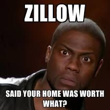 Zillow is only a software program.  Nothing more. Do not believe it.  Please public!!!!!!