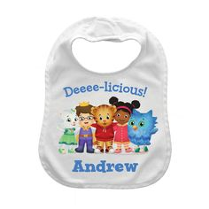 The Official PBS KIDS Shop | Daniel Tiger's Neighborhood Deeee-licious Bib