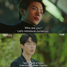 Lim Ju Hwan, Bride Of The Water God, God Is For Me, Funny Dialogues, K Drama, Drama Funny, Kdrama Memes, China, Korean Dramas