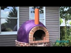Building An Outdoor Pizza Oven Pizza Oven Outdoor, Outdoor Cooking, Outdoor Entertaining, Wood Oven, Wood Fired Oven, Purple Outdoor Furniture, Garden Pizza, Fire Pit Cooking, Brick Ovens