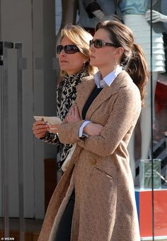 On a trip to Dublin in April 2007, Kate was photographed on Grafton Street with her mother...