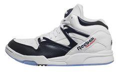 Reebok Pump Omni Lite White/Navy Blue Available Now