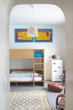 33 Cool Shared Kids Room Ideas momtoob.com