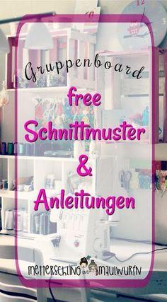 Free Schnittmuster, Anleitungen nähen - kostenlose Tutorials